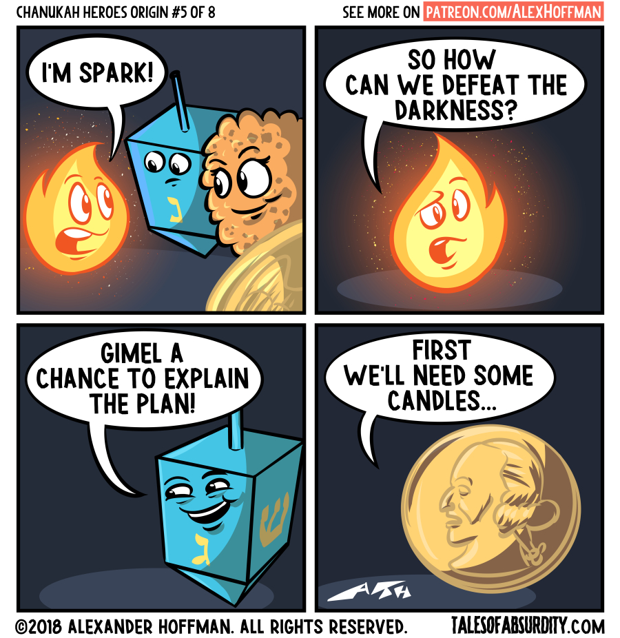 Chanukah Heroes Origin Part 5
