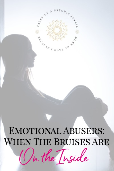 Emotional Abusers: When the bruises are on the inside