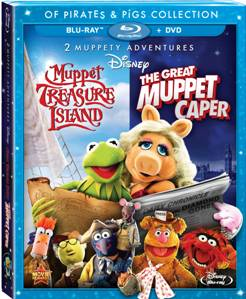 The Great Muppet Caper & Muppet Treasure Island two-DVD pack