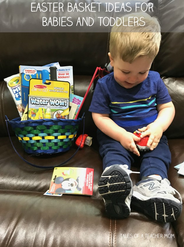 Easter basket ideas for babies and toddlers tales of a teacher mom negle Gallery