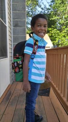 He's ready for Kindergarten (I'm not.)
