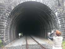 a very large tunnel