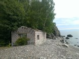 one of the workers homes along lake baikal