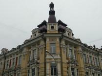 lovely building in irkutsk , along marx street
