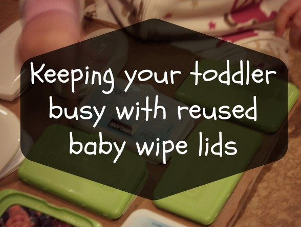 keep your toddler busy