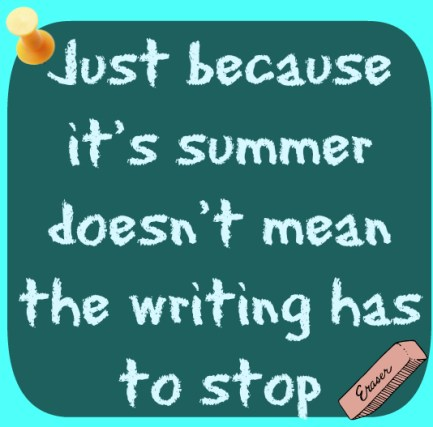 don't stop writing
