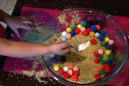 Oatmeal toddler activity5