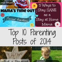 The best parenting posts of 2014 all in one spot!