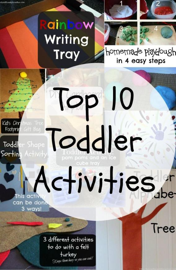 The best toddler activities to keep them busy and learning!