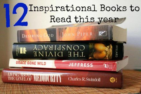 A list of 12 great books to read this year to inspire and motivate you!