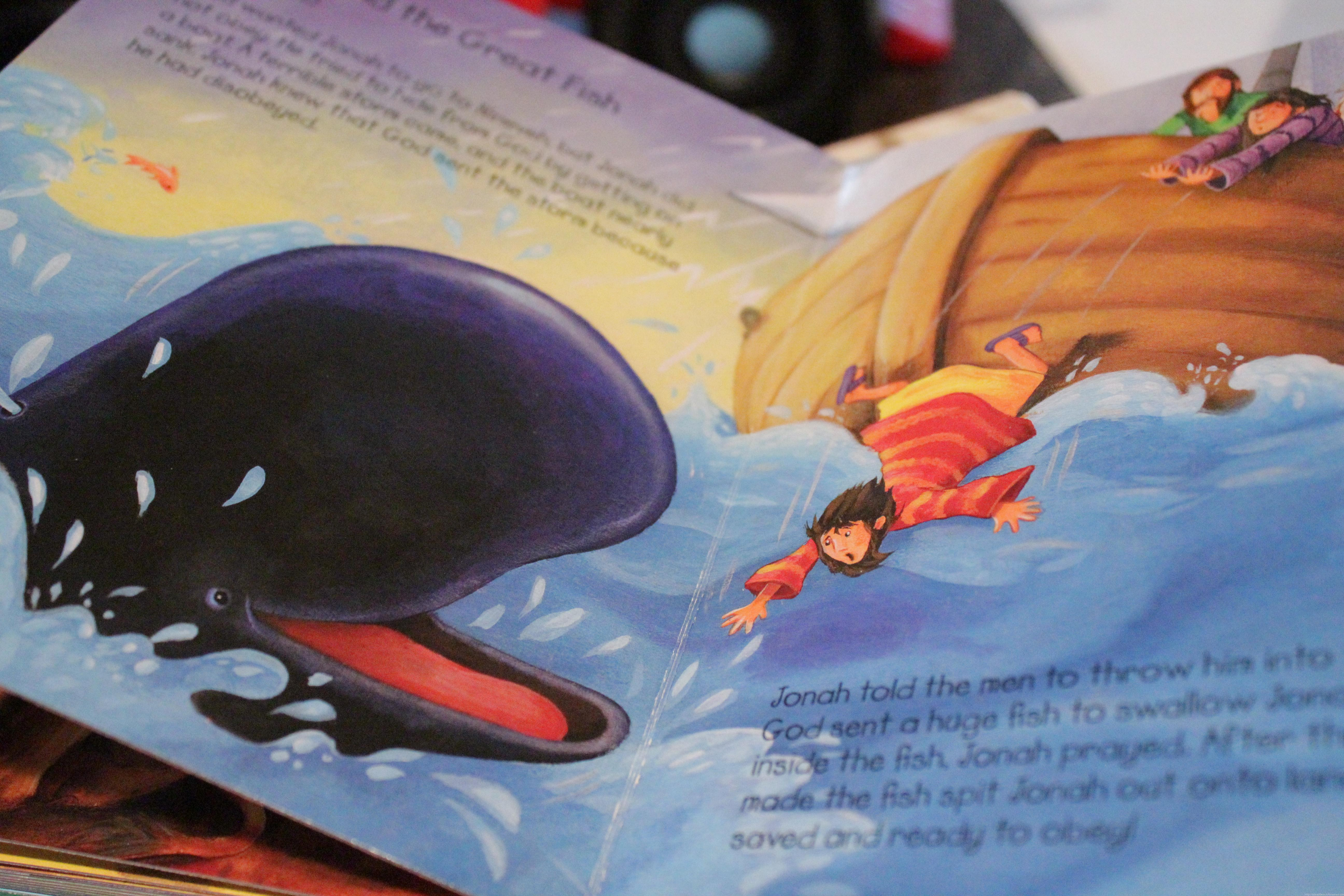 Preschool Lesson Plan Jonah And The Whale