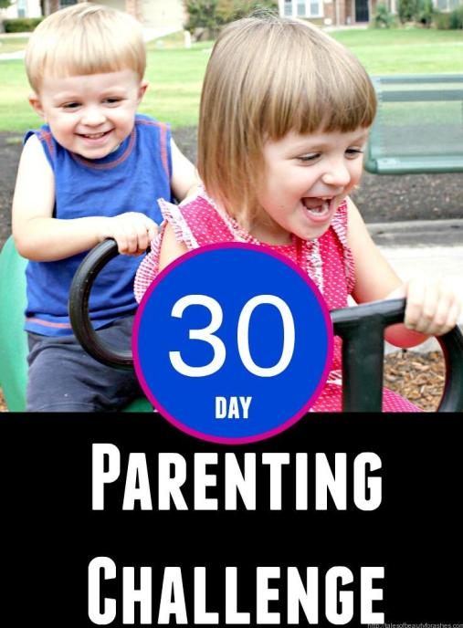 30 day parenting chalenge