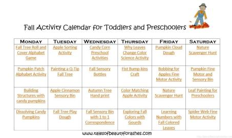 These are some of the best fall activites for toddlers and preschoolers!