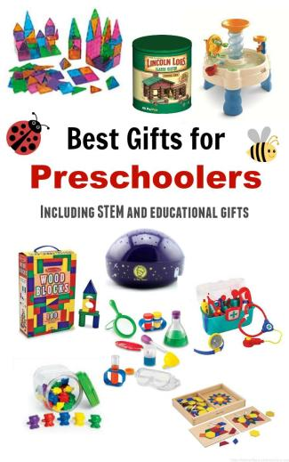 Some of the best ideas for your preschooler. This includes some things I never would have thought of!