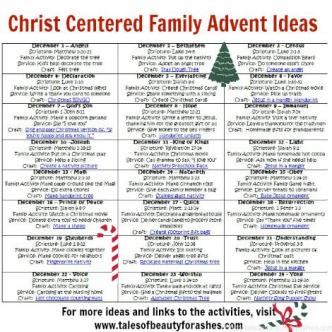christ centered advent ideas