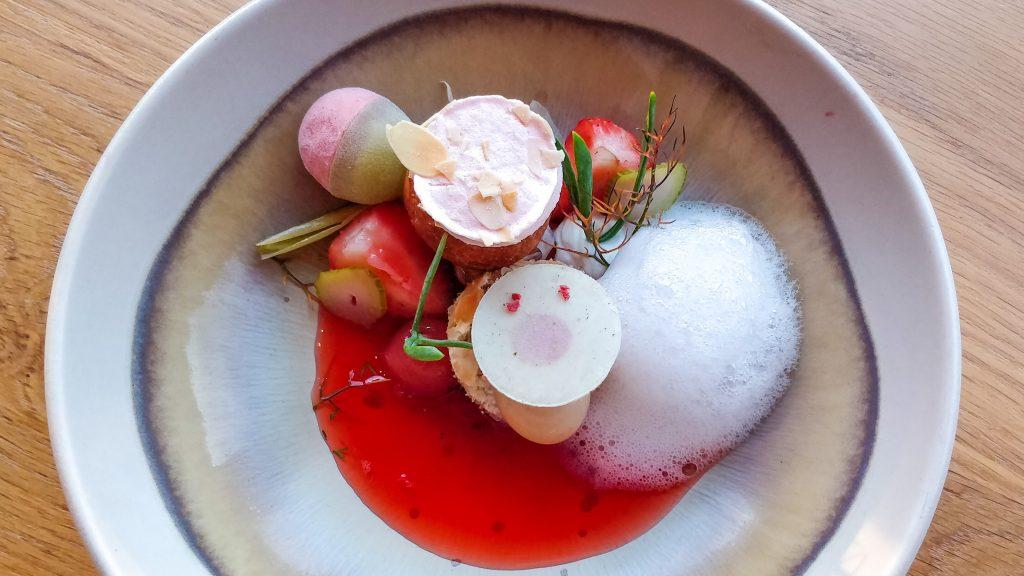 Dessert @ restaurant Pure-C