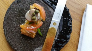 Mackerel @ restaurant Pure-C