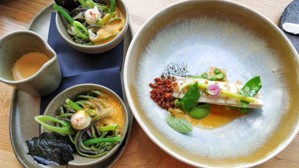 Sobrasada sole fish @ restaurant pure-C