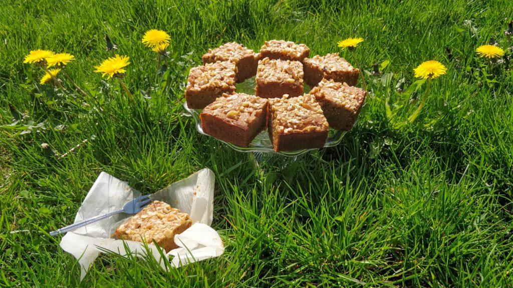 Nutty Banana, (no)Coffee, Ghee cake picknick