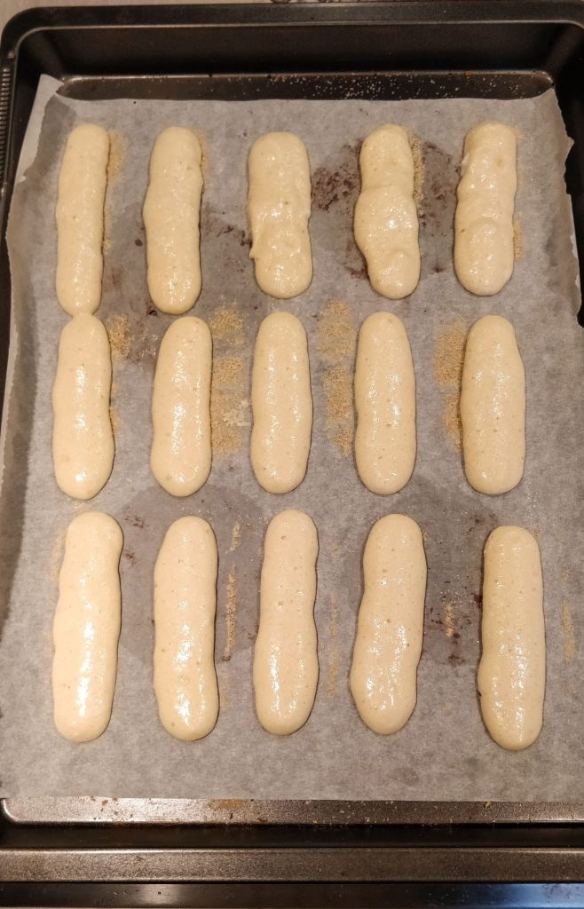 Lady fingers - savoiardi biscuit recipe