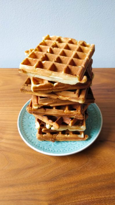 The ultimate Friendship waffles