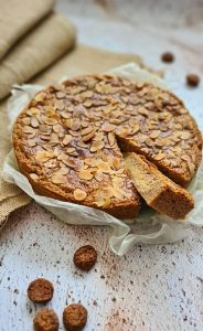 Dutch Speculaas tart with Almond filling recipe
