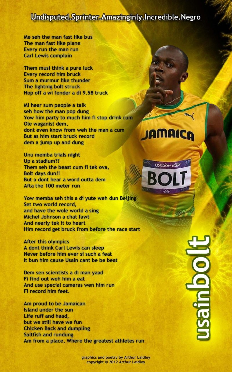 Track And Field Poems Rhyme