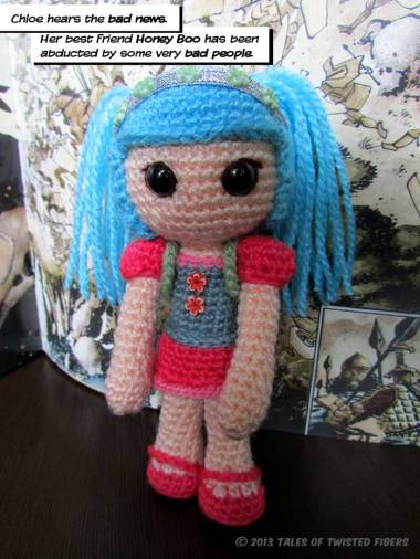 Chloe, the Hit-Girl Amigurumi Free Pattern