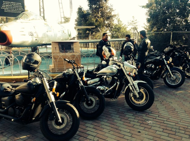 Group ride with Lahore based Highway Bikers to Lower Topa, Murree