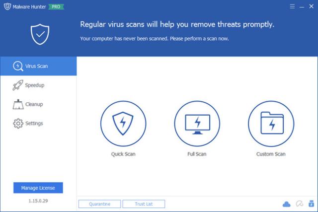 Glary Malware Hunter 2019