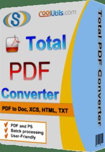 Coolutils Total PDF Converter 6