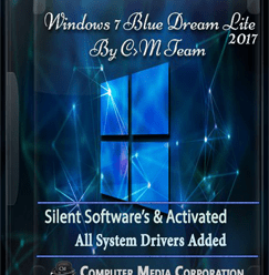 Windows 7 Blue Dream Lite Edition 2017 x86 700Mb ! [Latest]