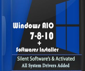 Windows AIO 7-8-10 (x86/x64) [28In1]+Software Installer!