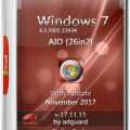 Windows 7 Sp1 7601.23934 (X86-X64) AIO (26IN2) By Adguard!