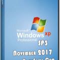 Windows Xp Professional Sp3 November 2017 ISO [Latest!]