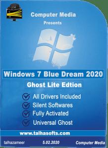 Windows 7 Blue Dream 2020
