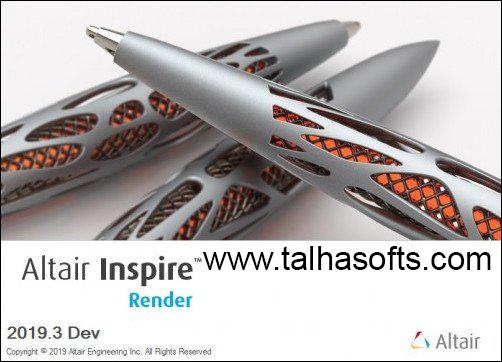 Altair Inspire Render 2019 Full Version