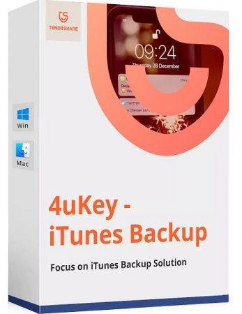 Tenorshare 4uKey iTunes Backup 5.2 Full Crack
