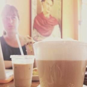 Cappuccino, the City Sun & Frida