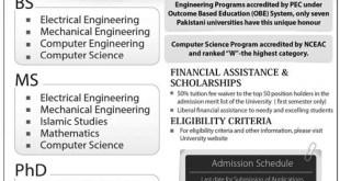 Online Undergraduate: Nust Apply Online Undergraduate