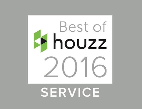 Talie Jane Interiors Lake Tahoe Best of Customer Service 2016 Houzz badge