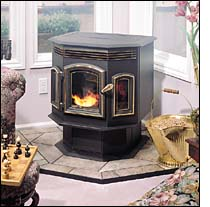 Aladdin Hearth Products  QuadraFire Pellet Stoves and Fireplace Inserts