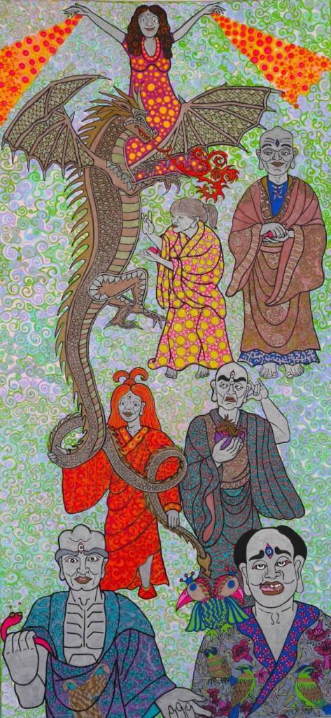 The Dragon Light scroll