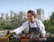 Chef Gabi at work
