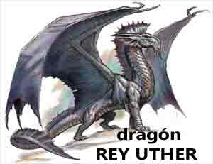 Rey Uther dragon legend