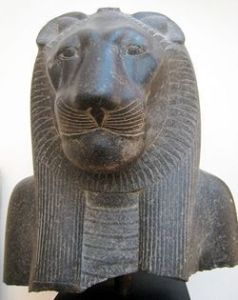 Sekhmet lion