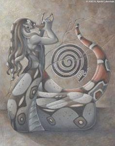 naga snake symbol