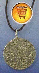 horses Epona, celtic amulet