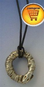 oroboros silver pendant