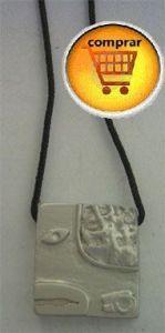 mayan seal  snake silver pendant